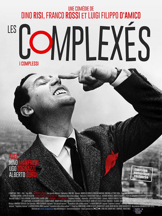 Les Complexés (Franco Rossi, Dino Risi, Luigi Filippo D'Amico, 2017)