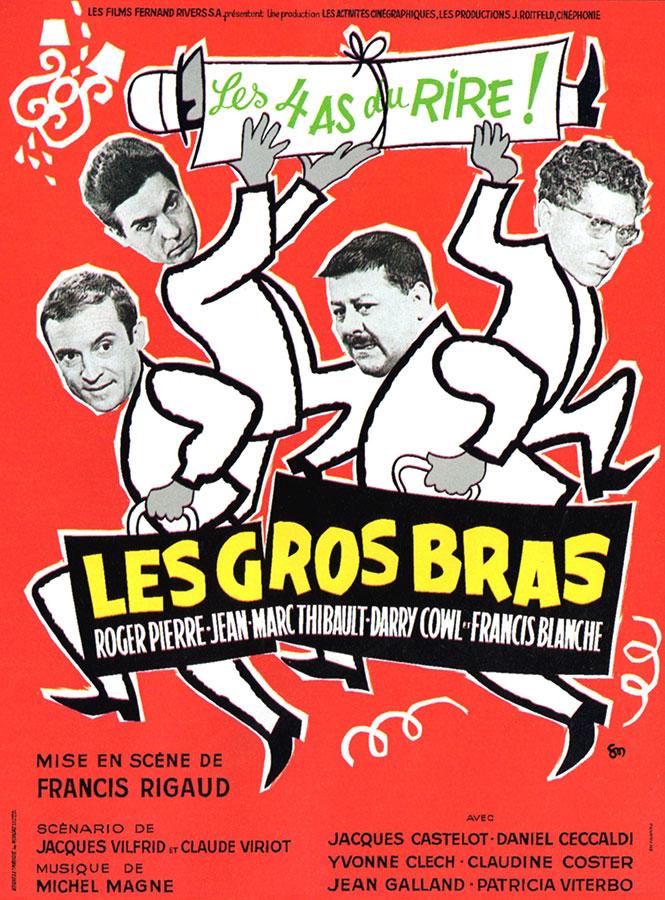 Les Gros bras (Francis Rigaud, 1964)