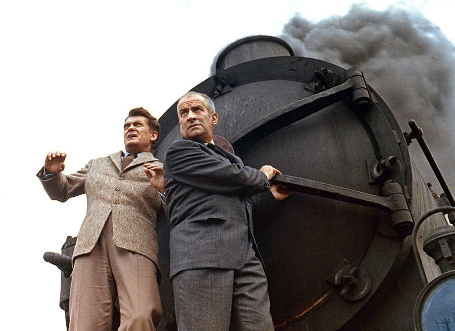 Jean Marais et Louis de Funès dans Fantômas (André Hunebelle, 1964) - © Gaumont