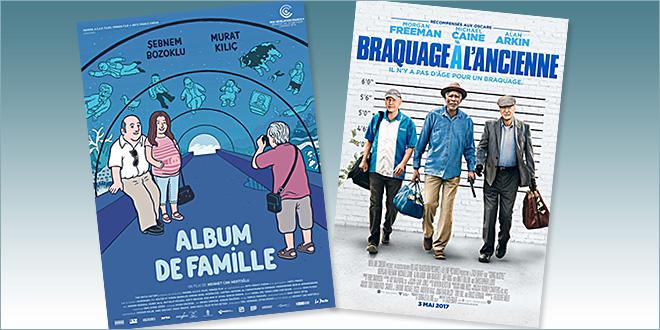 sorties Comédie du 3 mai 2017 : Album de famille, Braquage à l'ancienne