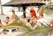 La troupe du Splendid dans Les Bronzés (Patrice Leconte, 1978)