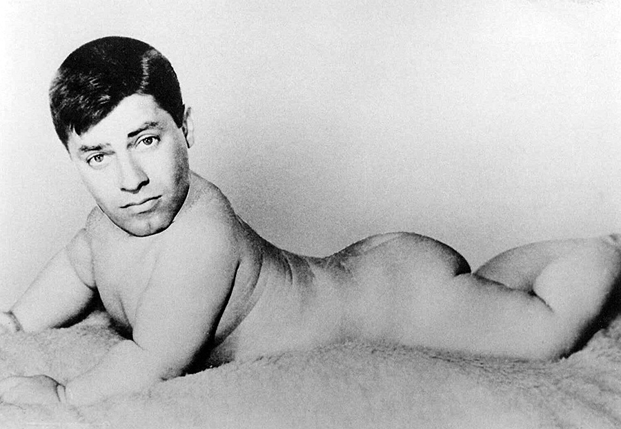 Jerry Lewis Baby Portrait - © Jerry Lewis Archives