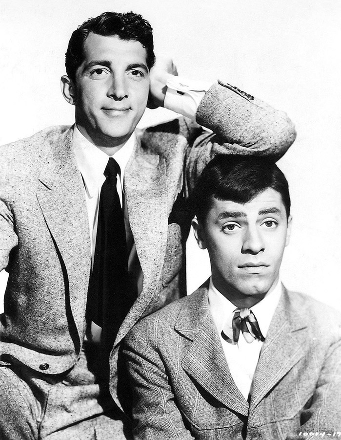 Jerry Lewis et Dean Martin - © Jerry Lewis Archives