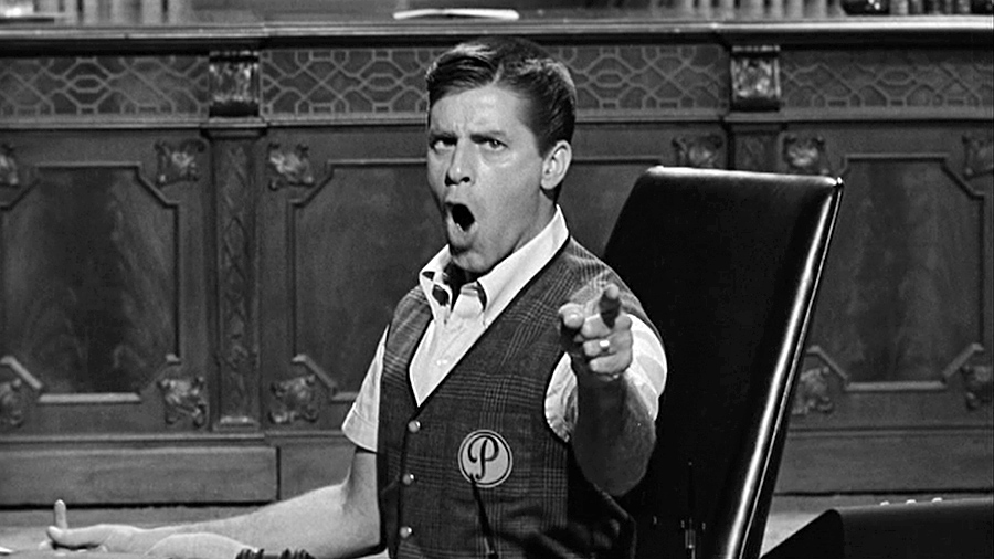 Jerry Lewis dans Le Zinzin d'Hollywood (The Errand Boy, 1961) - © Jerry Lewis Films, Inc.