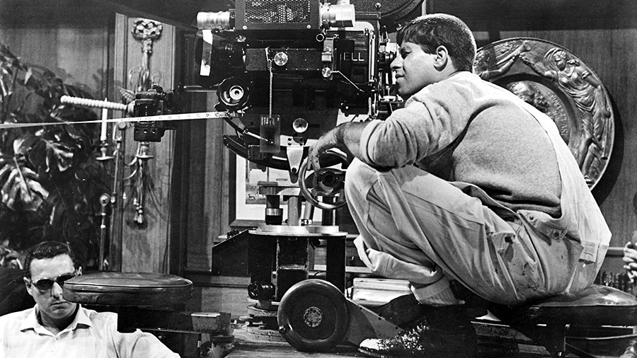 Jerry Lewis tourne Le Zinzin d'Hollywood (The Errand Boy, 1961) - © Jerry Lewis Films, Inc.