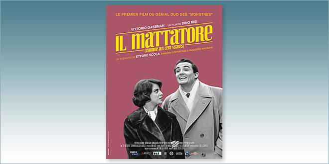 sorties Comédie du 14 juin 2017 : L'Homme aux cent visages (Il Mattatore, 1960)