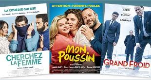 Toutes les sorties Comédie du 28 juin 2017 : Cherchez la femme, Mon poussin, Grand froid
