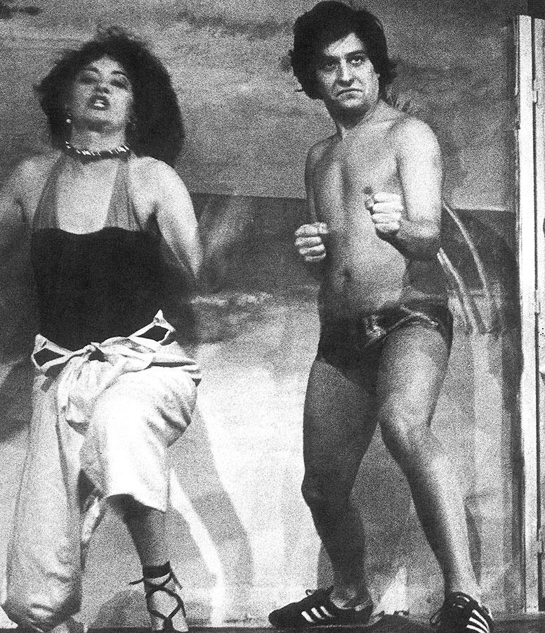 Dominique Lavanant et Christian Clavier dans Amour, Coquillages et Crustacés (1977) - D.R. Splendid