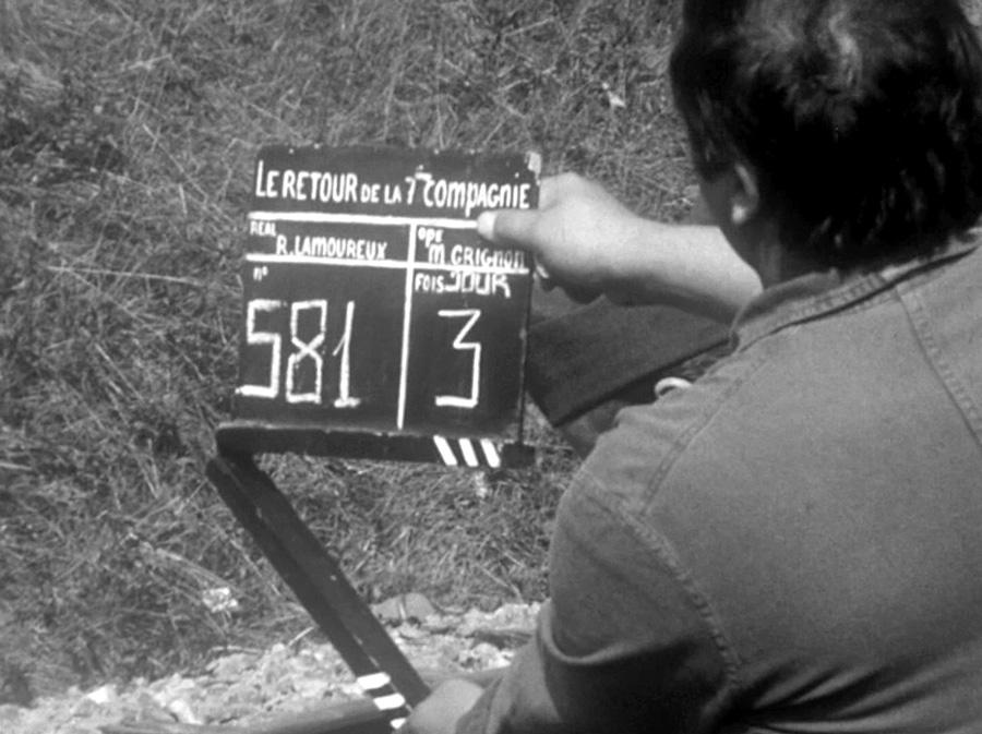 Septembre 1975 : 3ème jour de tournage de On a retrouvé la 7ème compagnie !