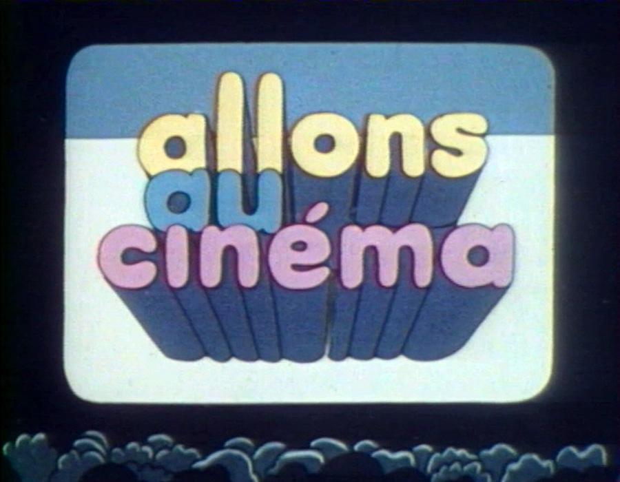 """Emission """"Allons au cinéma"""" (1977)"""