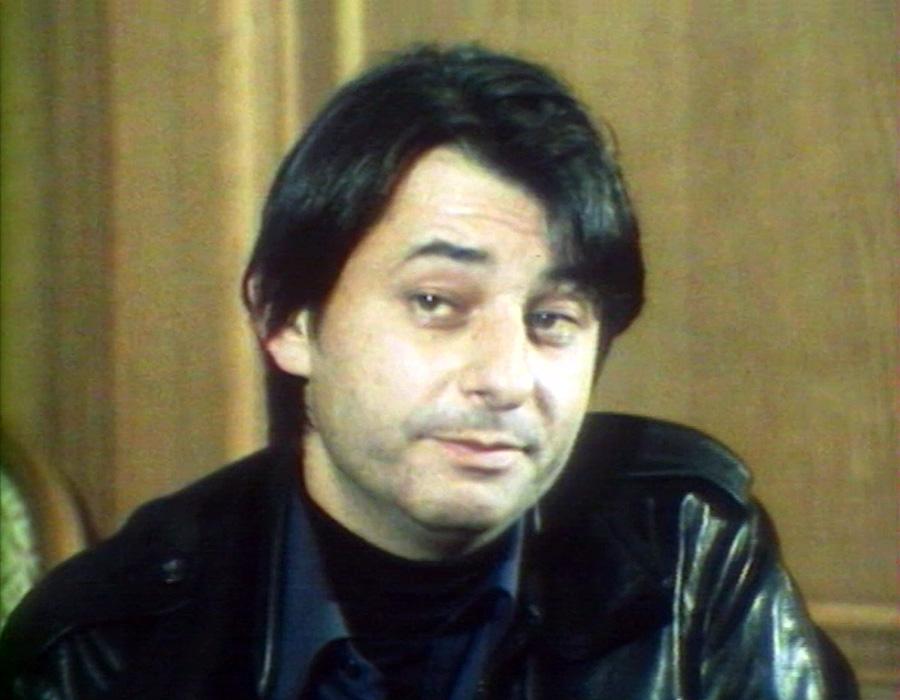 """Henri Guybet dans l'émission """"Allons au cinéma"""" (1977)"""