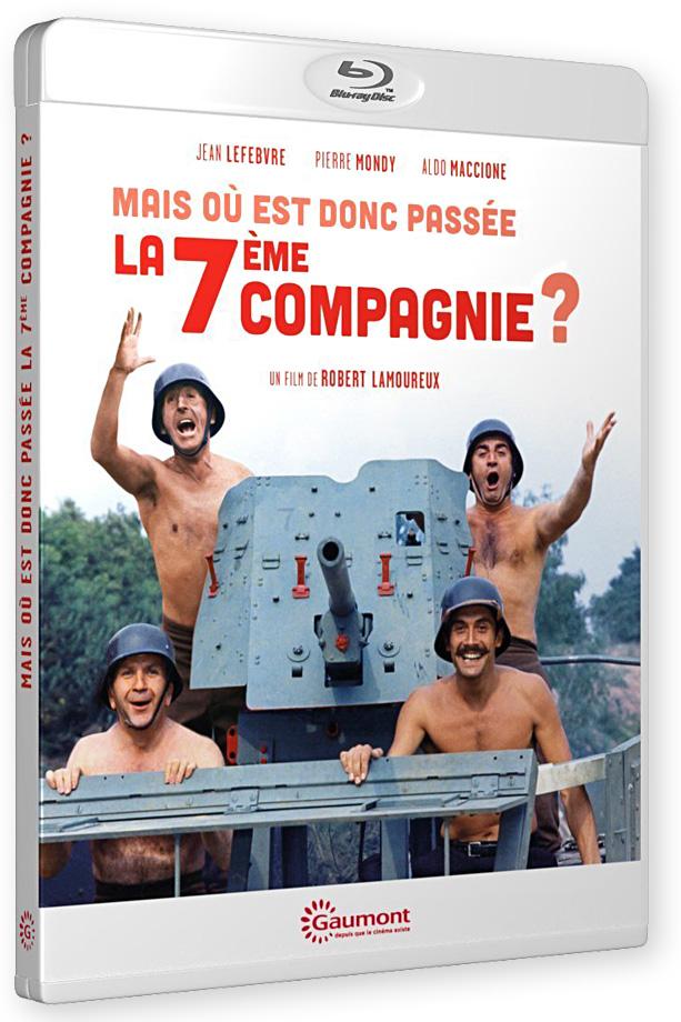 Mais où est donc passée la 7ème Compagnie ? (Robert Lamoureux, 1973) - Blu-ray