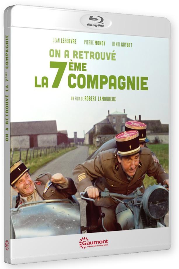 On a retrouvé la 7ème Compagnie ! (Robert Lamoureux, 1975) - Blu-ray