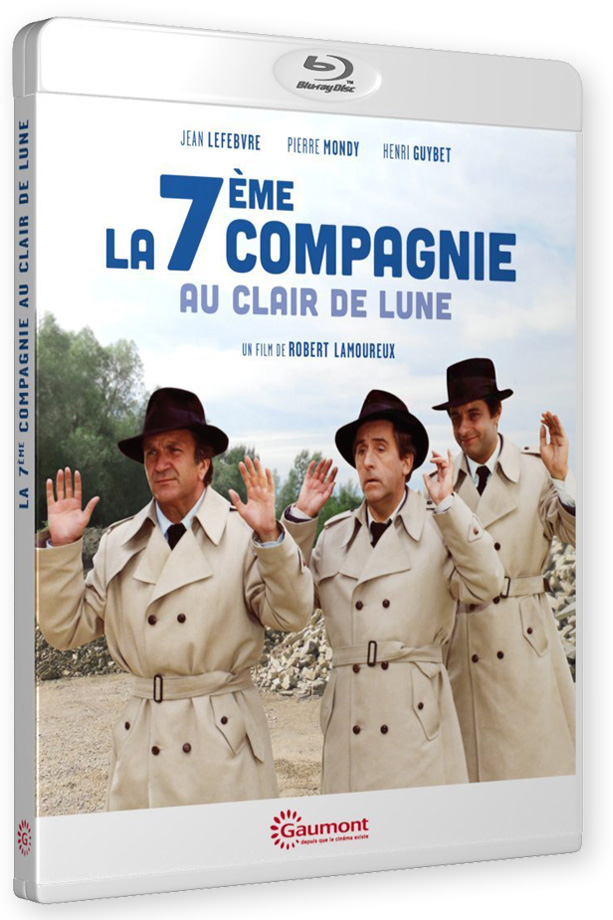 La 7ème Compagnie au clair de lune (Robert Lamoureux, 1977) - Blu-ray