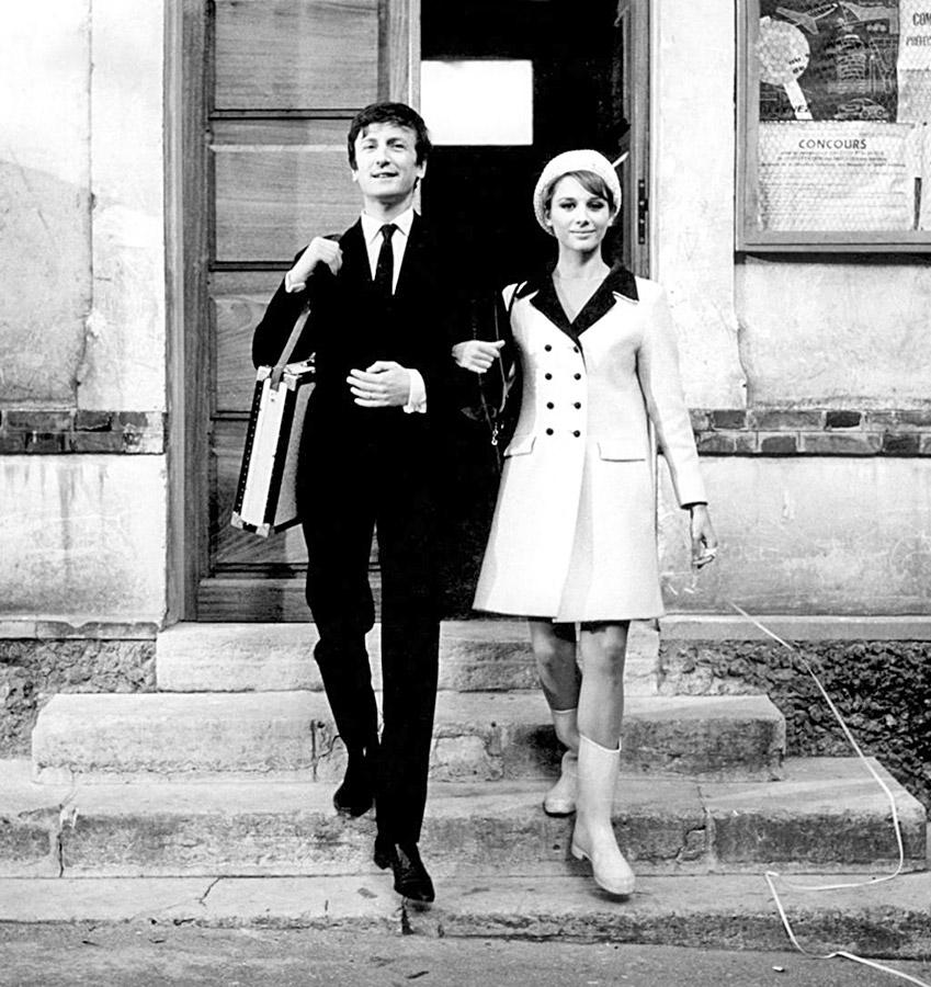 Claude Rich et Catherine Rich dans Les Compagnons de la Marguerite (Jean-Pierre Mocky, 1967) - © Mercurfilm/Balzac Films