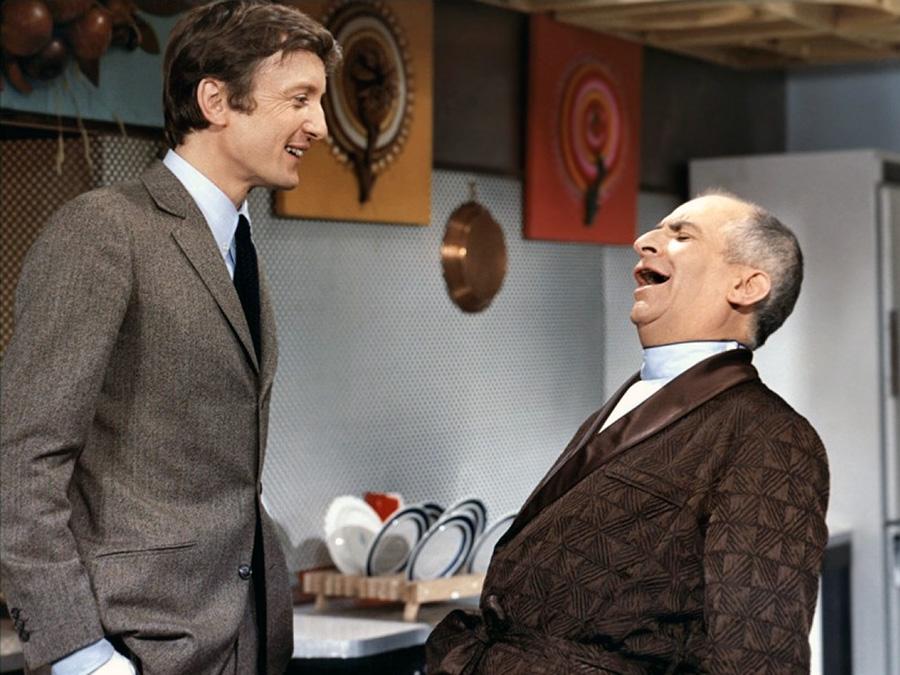 Louis de Funès et Claude Rich dans Oscar (Édouard Molinaro, 1967) - © Gaumont