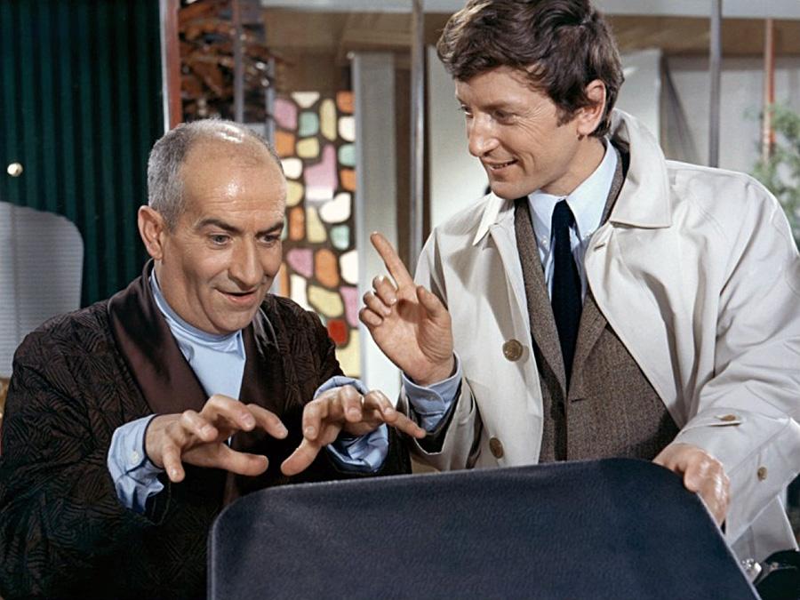 Claude Rich et Louis de Funès dans Oscar (Édouard Molinaro, 1967) - © Gaumont