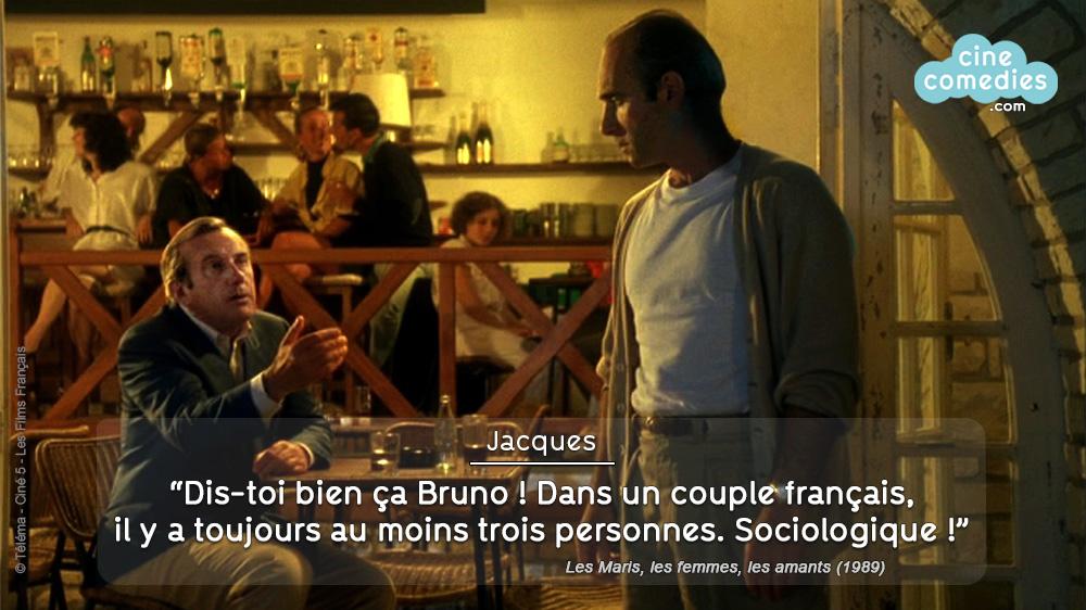 Les Maris, les femmes, les amants (Pascal Thomas, 1989) - réplique 1