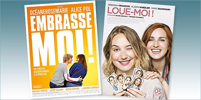 sorties Comédie du 5 juillet 2017 : Embrasse-moi !, Loue-moi !