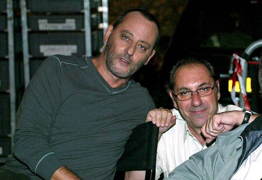 Jean Reno et Alain Berberian sur le tournage de L'Enquête corse - © Archives Nice-Matin