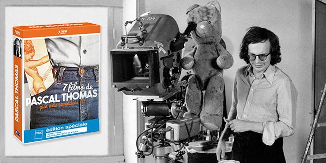 7 comédies de Pascal Thomas en coffret DVD