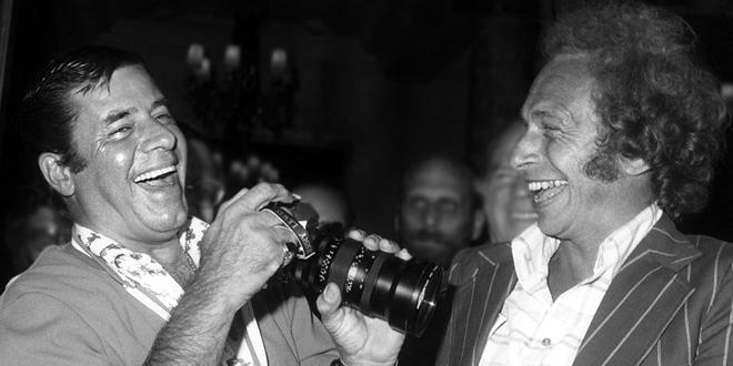 Jerry Lewis et Pierre Richard - © Traverso