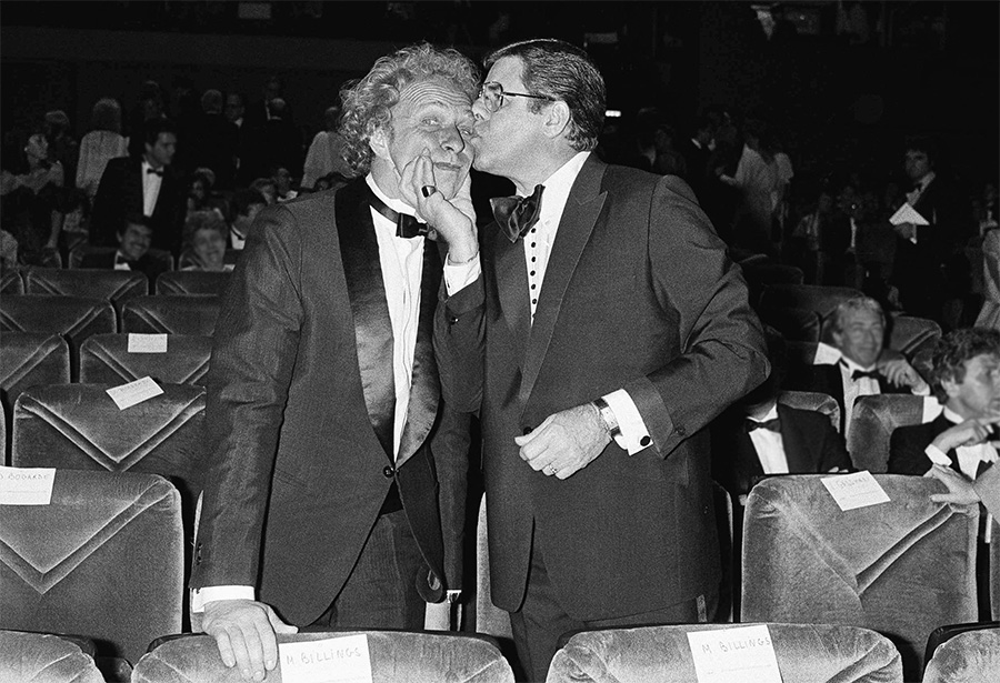 Pierre Richard et Jerry Lewis à Cannes le 7 mai 1983 - © Jean Langevin