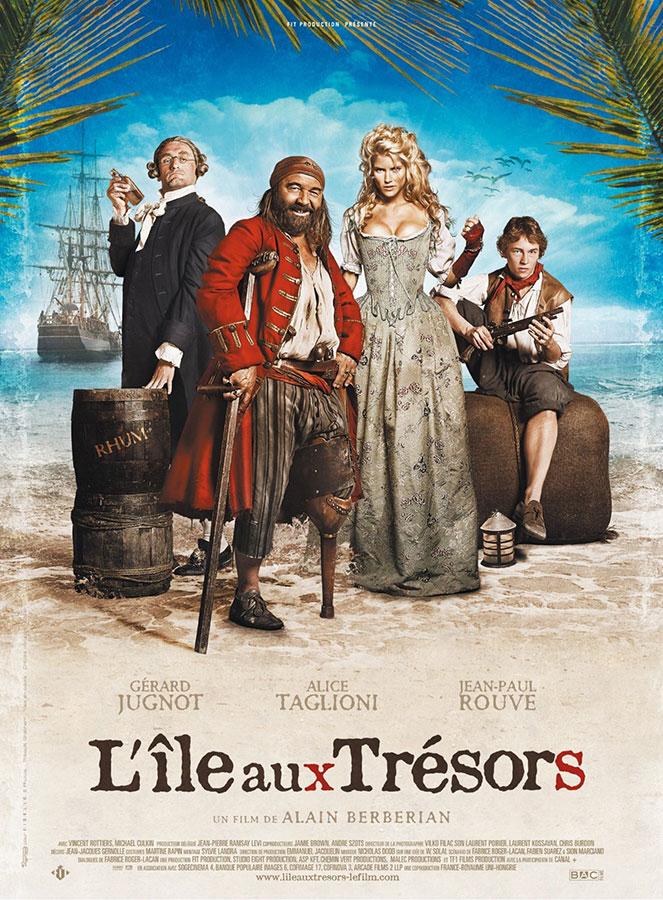 L'Île aux trésors (Alain Berbérian, 2007)
