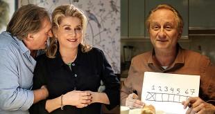 Gérard Depardieu et Catherine Deneuve dans Bonne Pomme de Florence Quentin - Benoît Poelvoorde dans 7 jours pas plus de Héctor Cabello Reyes