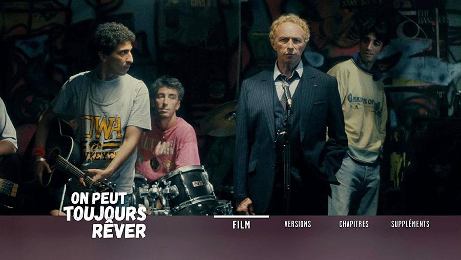 On peut toujours rêver (Pierre Richard, 1991) - Menu Blu-ray