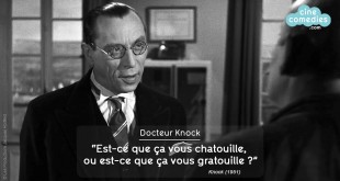 Knock (Guy Lefranc, 1951) - réplique culte