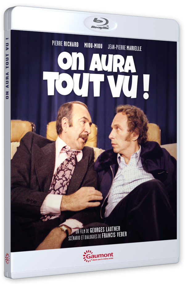 On aura tout vu ! (Georges Lautner, 1976) - Blu-ray