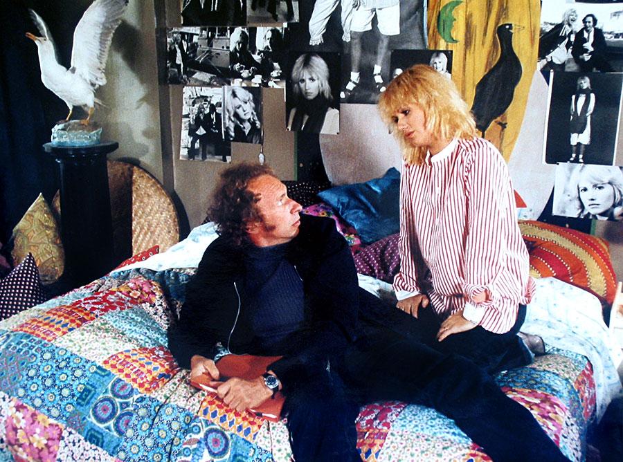 Pierre Richard et Miou-Miou dans On aura tout vu ! (Georges Lautner, 1976)