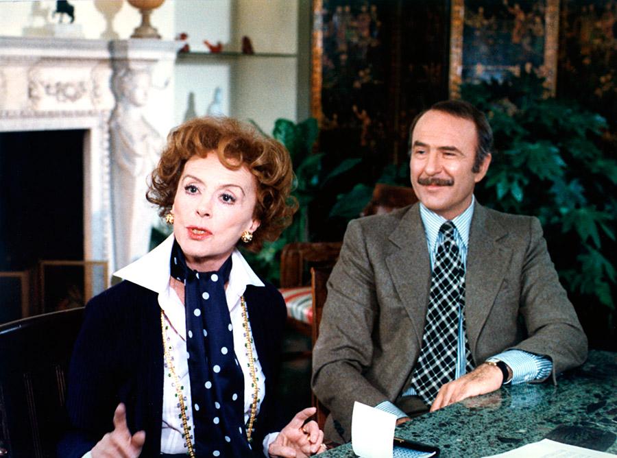 Renée Saint-Cyr et Jean-Pierre Marielle dans On aura tout vu ! (Georges Lautner, 1976)