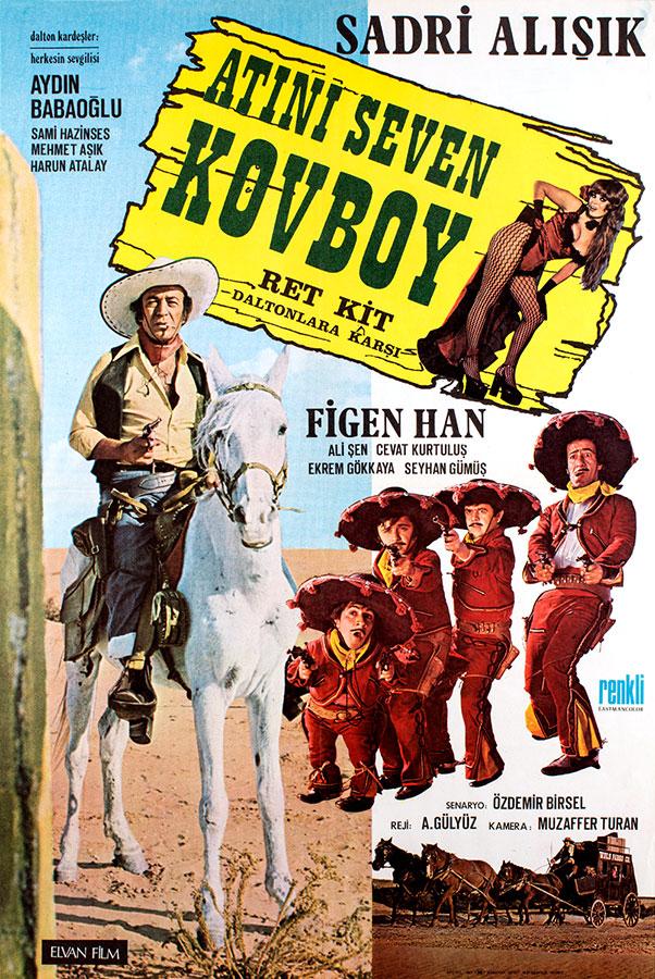 Atini seven kovboy (Aram Gülyüz, 1975)