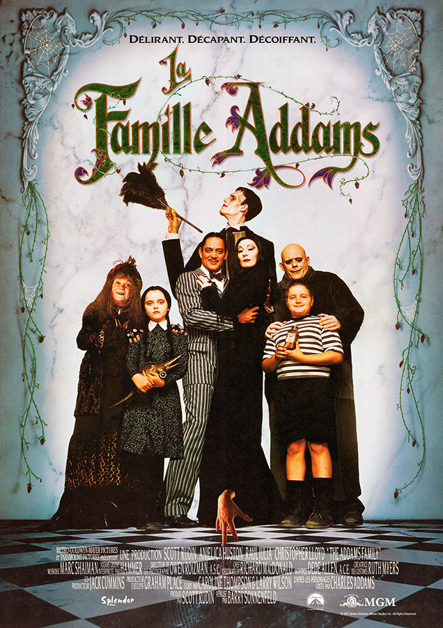 La Famille Addams (Barry Sonnenfeld, 1991)
