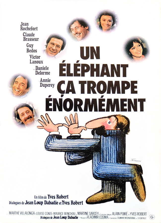 Un éléphant ça trompe énormément (Yves Robert, 1976)