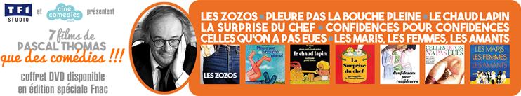 Coffret DVD 7 films de Pascal Thomas, que des comédies !!!