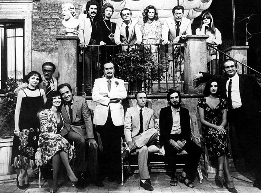 casting de La Terrasse (Ettore Scola, 1980)