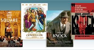 Sorties Comédie du 18 octobre 2017 : The Square, Les Nouvelles Aventures de Cendrillon, Knock (2017), Knock (1951)