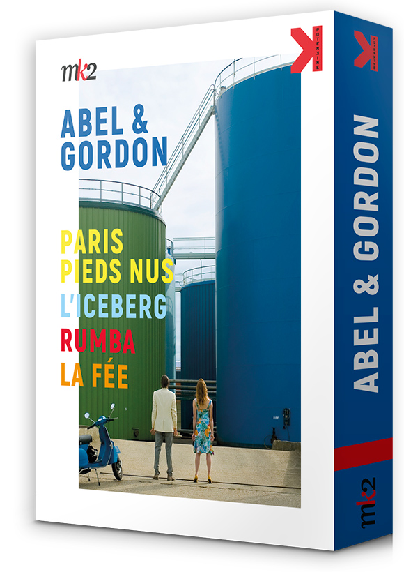 Paris pieds nus, La Fée, Rumba, L'Iceberg de Abel et Gordon - coffret DVD