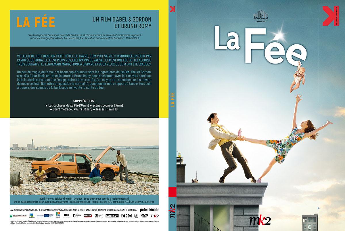 La Fée (Abel & Gordon, 2011) - DVD Digipack recto-verso (Potemkine)