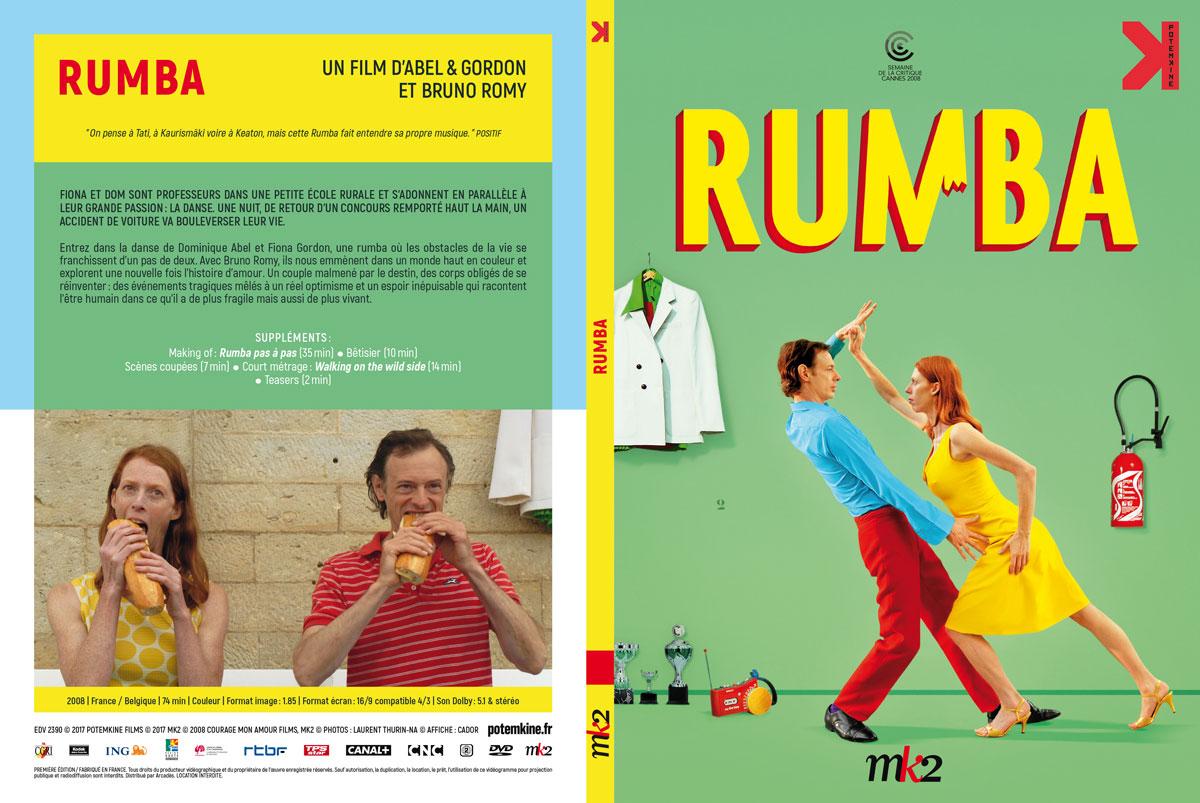 Rumba (Abel & Gordon, 2008) - DVD Digipack recto-verso (Potemkine)