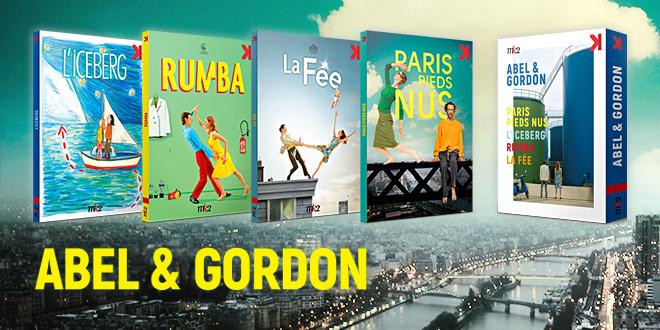 Paris pieds nus, La Fée, Rumba, L'Iceberg : retrouvez l'univers burlesque et poétique des comédies de Abel et Gordon en intégrale DVD