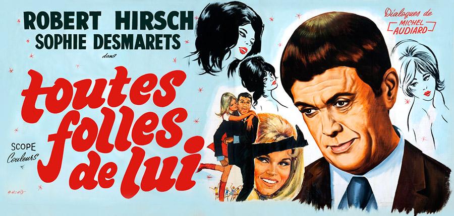 Toutes folles de lui (Norbert Carbonnaux, 1967)