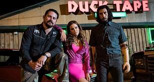 Channing Tatum, Riley Keough et Adam Driver dans Logan Lucky (Steven Soderbergh, 2017) - chiffres des comédies au Box-office français du 25 au 31 octobre 2017