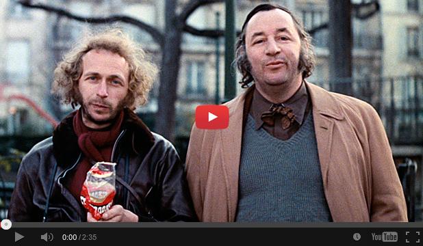 Pierre Richard et Philippe Noiret dans Un nuage entre les dents (Marco Pico, 1974)