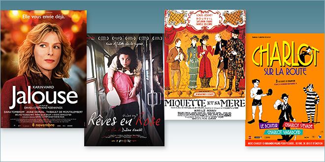 sorties Comédie du 8 novembre 2017 : Jalouse, Rêves en rose, Miquette et sa mère, Charlot sur la route