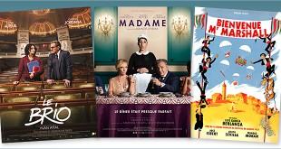 sorties Comédie du 22 novembre 2017 : Le Brio, Madame, Bienvenue Mr Marshall