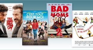 Toutes les sorties Comédie du 29 novembre 2017 : Tout mais pas ça !, C'est tout pour moi, Bad Moms 2, Chérie, je me sens rajeunir (reprise).